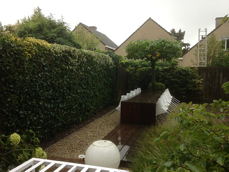 Tuinontwerp en tuinaanleg in Dordrecht