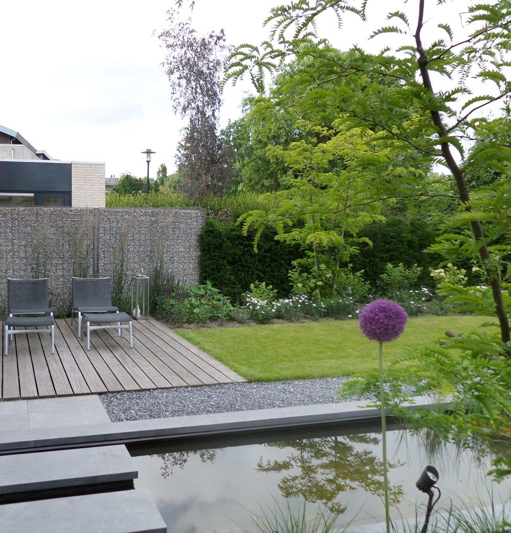 Tuinontwerp tuinaanleg in dordrecht van der steen tuinen - Designer tuin ...
