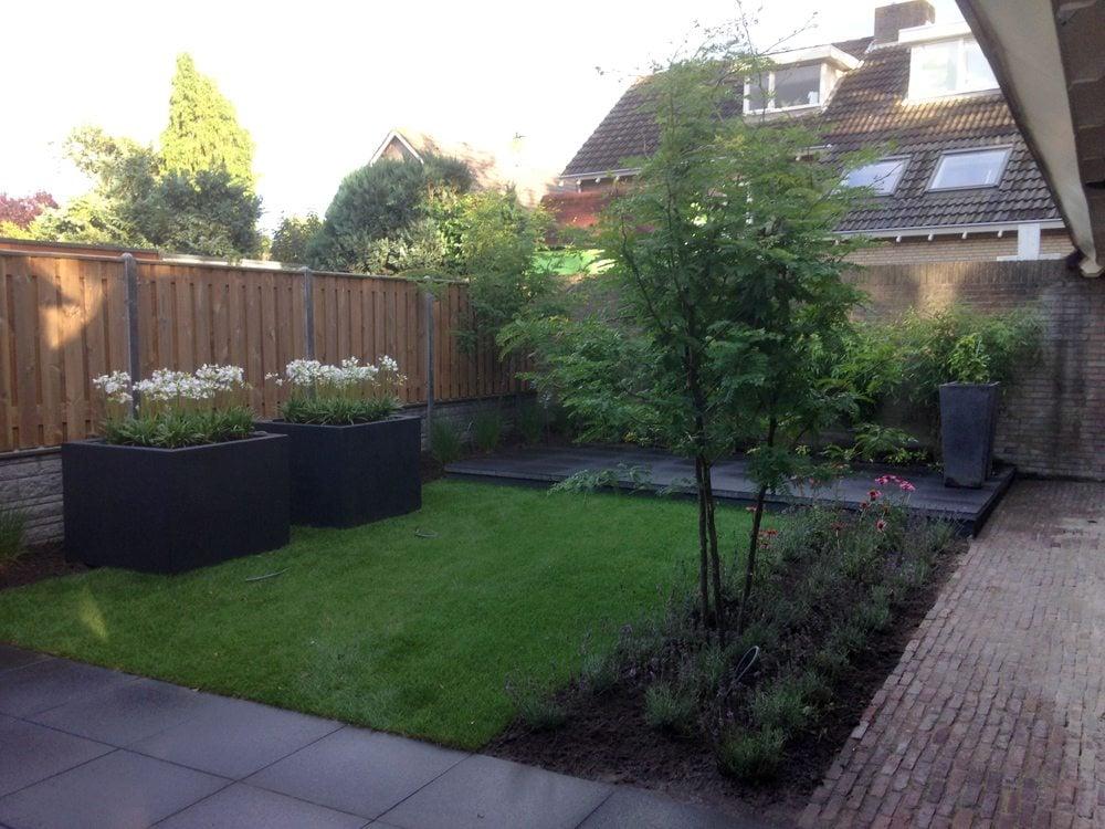 Tuin idee nodig voor tuinontwerp aanleg en onderhoud - Tuin exterieur ontwerp ...